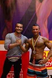 "Medals of TM ""MATRICE"" for bodybuilders!"