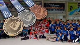 Medals for the Ukrainian Youth Hockey League