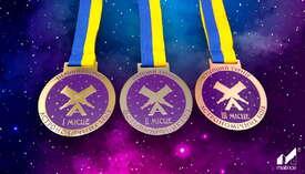 Медали производства ТМ «Matrice» на астрономических боях!