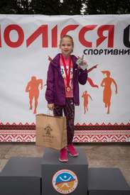 TM Matrice medals for the finalists of the Polissia Autumn 2019 race in Zhytomyr!