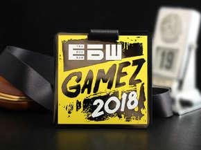 """Медаль """"Gamez 2018"""""""