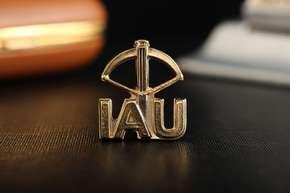 """Значок """"IAU"""""""