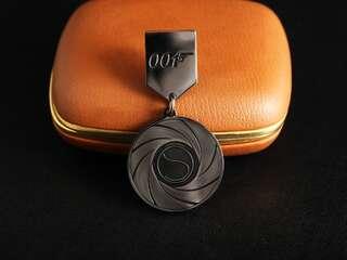 """Locked medal """"S"""""""