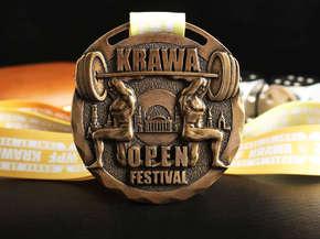 "Медаль ""Krawa Open Festival"""