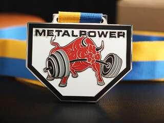 """Medal """"Metal Power"""""""