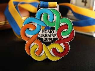 """Medal """"EGMO Ukraine-2019"""""""