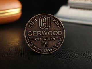 """Coin """"CerWood"""""""