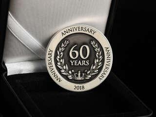 """Coin anniversary """"60 years"""""""