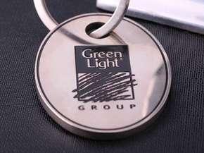 "Номерок для гардероба ""Green Light"""