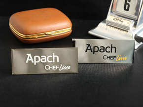 "Nameplate ""Apach Chef Line"""
