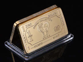"Bank bullion ""ARIES"" (model)"