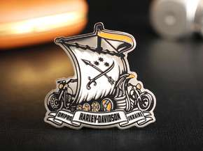 "Badge ""Harley-Davidson"""