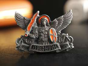 "Badge ""Harliey-Davidson Ukraine"""