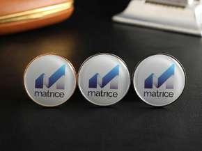 """Значок круглий """"Matrice"""""""