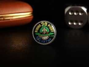 """Badge """"Rivno 30 Rivne"""""""