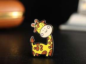 """Badge """"Giraffe"""""""