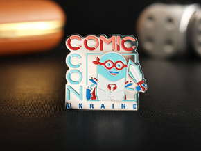 """Badge """"ComicCon"""""""